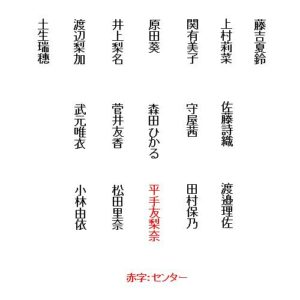 欅坂46_9thシングル